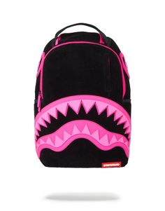 Sprayground Bite Me Shark Backpack Cute Backpacks, Girl Backpacks, School Backpacks, Hobo Handbags, Handbags On Sale, Black Backpack, Backpack Bags, Mochila Adidas, Sweet Bags