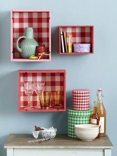 Süße Idee für die Küche: Aus alten Obstkisten bauen wir Regale. Und das können Sie auch - mit unserer ANLEITUNG!