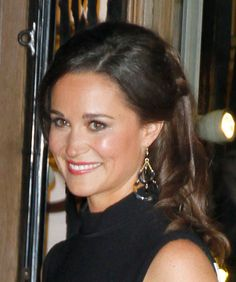 Pippa Middleton in Bellissima Crescent Earrings http://www.johannasimonds.com/collections/earrings/products/crescent-earrings-by-bellissima