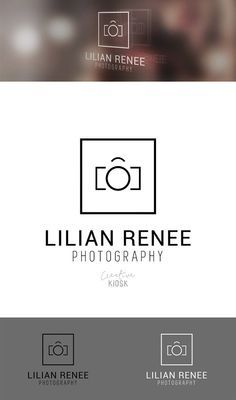 Simple Camera Logo. Photography Logo Template. by CreativeKiosk