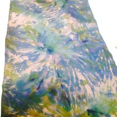 """Silk handmade wrap scarf. Custom colors and sizes. This exact scarf is sold but I can create custom soft and luxurious silk scarf with an extremely lustrous smooth feel. It will make a wonderful one-of-a-kind gift. This scarf, just like a finger print is the only one on the universe! Each scarf is hand painted by me in freestyle and the exact design cannot be reproduced, but same style with different colors for a similar look can be ordered. Available sizes for custom order: 8"""" X 72"""" 14"""" X…"""