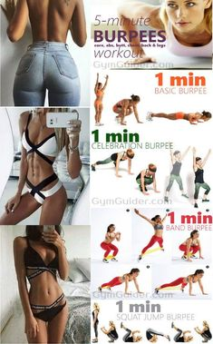 Considering the relatively brutal nature of burpees, and the number of repetitions in this workout, this routine is really not all that bad. You will definitely break a sweat, but youre not going to feel totall Mma Workout Routine, Gym Workout Chart, Workout Challenge, Burpees Workout, Workout Diet, But Challenge, Abc Workout, Burpee Challenge, Workout Girls