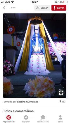 Altar Flowers, Church Flower Arrangements, Church Altar Decorations, Christmas Decorations, Novenas Catholic, Pastor Anniversary, Catholic Altar, Holy Thursday, Ganapati Decoration