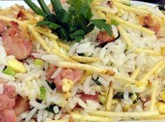 Arroz para churrasco - Veja mais em: http://www.cybercook.com.br/receita-de-arroz-para-churrasco.html?codigo=97244