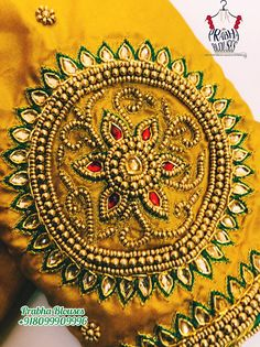 South Indian Blouse Designs, Kids Blouse Designs, Simple Blouse Designs, Saree Blouse Neck Designs, Stylish Blouse Design, Bridal Blouse Designs, Magam Work Designs, Saree Tassels Designs, Hand Work Blouse Design