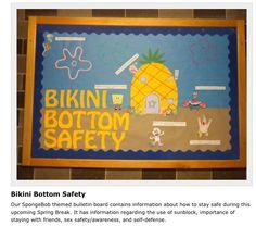 Spring Break Tips--March Bulletin Board!!
