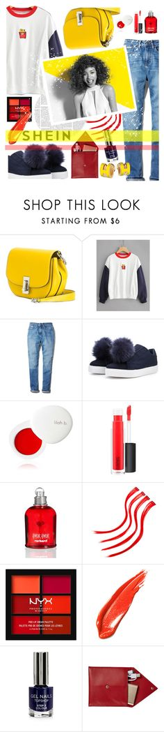 """Reflection - BTS Rap Monster"" by xxmoony ❤ liked on Polyvore featuring Marc Jacobs, Calvin Klein, lilah b., MAC Cosmetics, Cacharel, NYX, Paul Mitchell, Topshop and STOW"