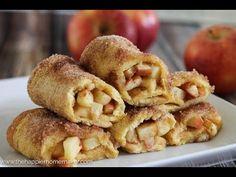 Apple Pie Roll Ups | The Happier Homemaker
