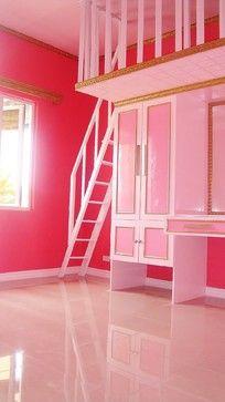 Girly Design - Layla's closet  I like the low vanity