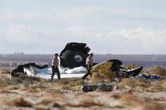 OVNI Hoje!…Nave para vôo espacial comercial sofre acidente - OVNI Hoje!...