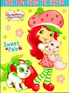 Strawberry Shortcake Big Fun Book To Color ~ Sweet Pals (96 Pages) by Creative Edge. $5.98. 96 Pages of Coloring Fun. 8 x 11 inches. For Ages 3+