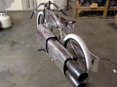 Twin Jet Engine bicycle! pulsejet bike
