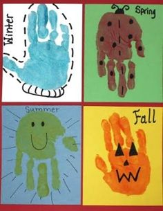 best kid handprint art project