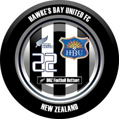 DNZ Football Buttons: Hawke's Bay United FC                                                                                                                                                                                 Mais