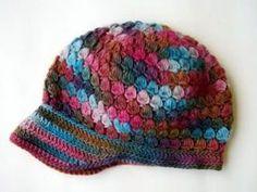 RETALES DE TIEMPO HECHOS CROCHET: boinas-gorros-sombreros