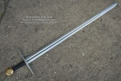 Century German War Sword by Maciej Kopciuch. Overall Blade Blade Cross