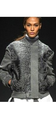 Cashmere-Persian-Lamb--Real-Fur-Bomber-Jacket-Dress-Coat-Runway
