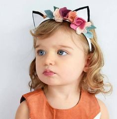 Woodland Fox Fox Ears Headband Cute Fox Headband by VivibellesBows