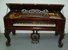 Beautiful old Mathushek Square Grand Piano