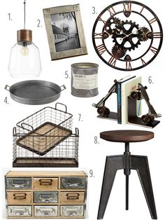 Redecorating On A Budget: Industrial Chic - Mama's A Rolling Stone Magazine