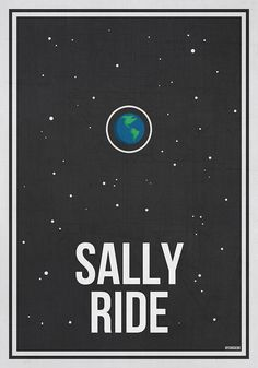 """SALLY RIDE- Women in Science Wall Art"" by Hydrogene 