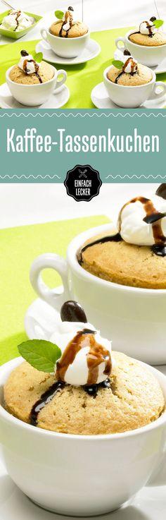 """""""Lust auf ein Tässchen Kuchen?"""" Ja, richtig gehört! Denn wir verarbeiten Espresso jetzt weiter in himmlische Mini-Küchlein. Mmh!"""