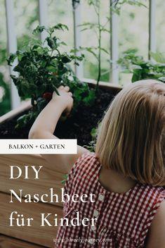 DIY Naschbeet für Kinder - Balkon + Garten - Obst und Gemüse für den Balkon Gardening, Diy And Crafts, Kindergarten, Journey, Ideas, Gardens, Vegetable Gardening, Blue Prints, Porches