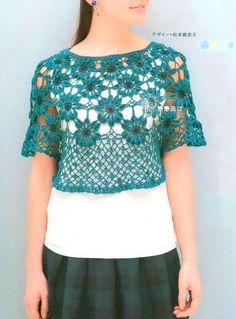 Crochet Bolero Pattern - Original