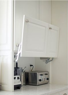 Ideas and expert tips on kitchen cabinet designs so you can create your own dream kitchen. See more ideas about Stoves, Kitchen remodeling and DIY hidden kitchen appliances. #kitchenremodeling #kitchenideas