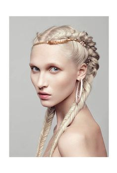 What would khaleesi wear? Double fishtail braids. Hair for a #goddess!  #awakenyourgoddess