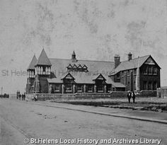 PH/17/7/14 Black and white photograph showing Christ Church Mission, St.Helens 1899. . . . . . . PH - Photographic collections 17 - Photographic collections that were created by individual depositors 7 - Black and white photographs showing factories, churches and schools in St.Helens