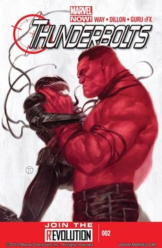 "Thunderbolts Vol. 2 #2 		 		Led by General ""Thunderbolt"" Ross, AKA the Red Hulk, this hand-picked team of like-minded operatives is going to make the world a better place... by all means necessary"