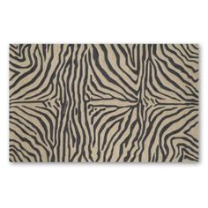 Ravella Zebra Outdoor Area Rug - you need a little animal print in every space - why not a lot?