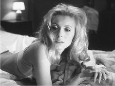 Catherine Deneuve, Belle de Jour. #EresParis #EresInspired #Parisian #Inspiration #Fw15 #Lingerie #BlackAndWhite #Interior #Bedroom