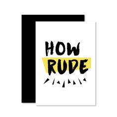 Set of 5 Full House Inspired Greeting Cards include Have Mercy, How Rude, You Got it Dude, No Way Jose and the Full House Theme Song // by Hello Ginger