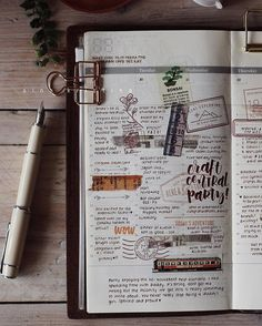 Still very comfortable with the Traveler's Notebook, this is last week's spread how has your Monday been so far? #plannerPhilippines #plannerph #thePHplannersociety #thePHplanningsociety #midoritravelersnotebook #travelersnotebook #travelersnotebookph #plannergirl #pilotprera #fountainpen #fountainpenph
