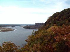 Ferry Bluff along the Wisconsin River in Beloit, #WI