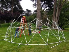 Santiago Ripley - Customer Reviews of Our Geodesic Dome Kit - Zip Tie Domes