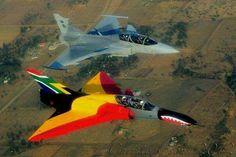 South African Air Force Atlas/Denel Cheetah & Saab JAS 39 Gripen