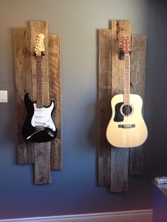 Guitar Hanger - Guitars. Tereks room