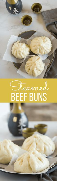 Japanese Steamed Beef Buns are soft, fluffy buns filled with a satisfying combination of meat and vegetables. So easy and delicious! | wanderzestblog.com