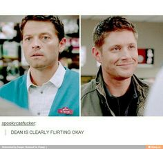 Image result for destiel exists supernatural