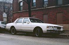 White Caprice Classic