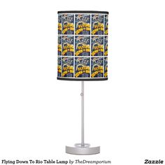 Flying Down To Rio Table Lamp