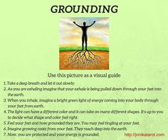 Grounding #meditation by Jonika. Useful visualization that will make sure you are protected and centered. Strengthens #intuition and psychic abilities. http://jonikatarot.com