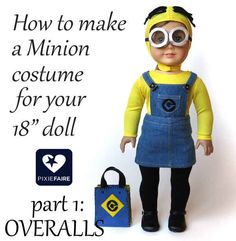 And future evil villains can DIY these outfits for their minions.