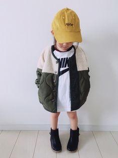 Right-onのTシャツ・カットソー「【NIKE】ラグランTシャツ 」を使ったSuikaaのコーディネートです。WEARはモデル・俳優・ショップスタッフなどの着こなしをチェックできるファッションコーディネートサイトです。 Baby Girl Fashion, Kids Fashion, Womens Fashion, Cute Little Girls, Little Ones, Kids Wear, Rain Jacket, Kids Outfits, Windbreaker