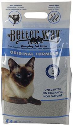 Better Way Original Unscented Clumping Bentonite Cat Litter with Sanel Cat Attractant Pack of 3 * Find out more about the great product at the image link.(This is an Amazon affiliate link and I receive a commission for the sales)