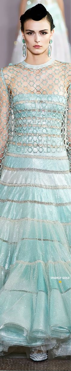 Giorgio Armani, Emporio Armani, Armani Prive, Outfits Spring, Shades Of Green, 50 Shades, Armani Collection, Spring Summer, Teal