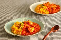 レシピはこちらです! http://s.ameblo.jp/comcome/entry-11603094583.html?frm=theme - 67件のもぐもぐ - トマトチキンカレー(週末夫婦ごはん) by 料理研究家 五十嵐夫妻
